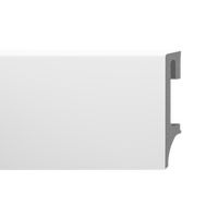 Listwa przypodłogowa Espumo 201 2500x80x16 biała