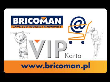 Karta VIP Bricoman